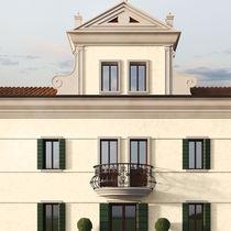 Decorative paint / for walls / exterior / interior