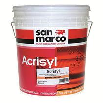 Smoothing coating / for outdoor use / facade / siloxane