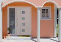 Entry door / swing / laminate / fire-retardant