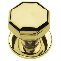 Contemporary door knob / brass