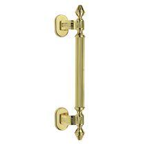 Door pull handle / brass / traditional