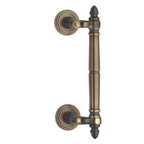 Door pull handle / brass / traditional