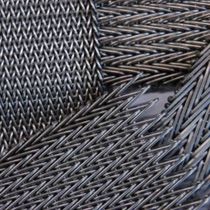 Wire interior fitting mesh / for walls / stainless steel / brass
