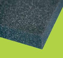 Thermal-acoustic insulation / polyurethane foam / panel / incombustible