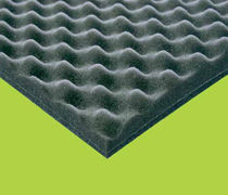 Acoustic insulation / thermal / panel / polyurethane