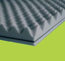 Acoustic insulation / rigid panel / melamine foam / interior