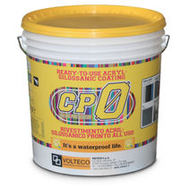 Insulating coating / filling / smoothing / exterior