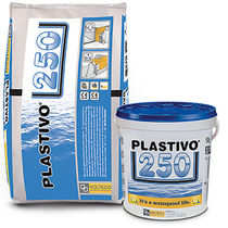Two-component waterproofing system / elastic / liquid