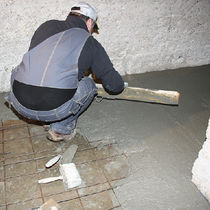 Repair mortar / smoothing / non-shrink / dehumidifying