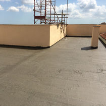 Elastomer waterproofing system / flat roof / for balconies / liquid