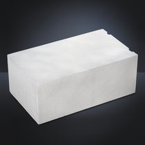 Cellular concrete block / for load-bearing exterior walls / insulated / thermal stone