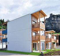 Prefab building / for housing developments / residential / wooden