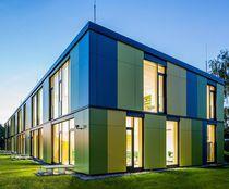 Prefab building / school / wooden / wooden frame
