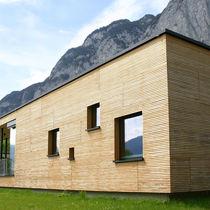 Prefab building / kindergarten / wooden / wooden frame