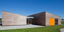 Prefab building / kindergarten / nursery / larch