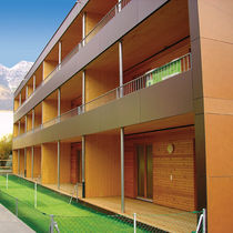Prefab building / for housing developments / residential / wooden