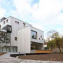 Prefab building / museum / wooden / wooden frame