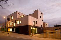 Prefab building / kindergarten / wood / wooden frame