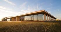 Prefab building / passive / commercial / wooden