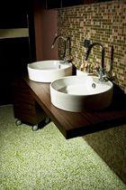 Liquid epoxy resin flooring / commercial / residential