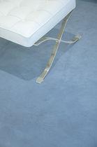 Liquid epoxy resin flooring / smooth / concrete look / high-resistance