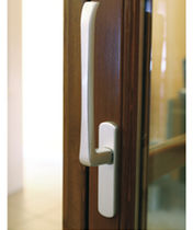 Sliding window handle / metal / contemporary
