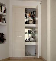 Closet door / swing / solid wood / oak