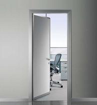 Indoor door / swing / aluminum / glazed
