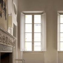 Casement window / wooden / quadruple-glazed / thermal break