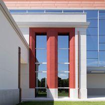 Casement window / tilting / fixed / aluminum
