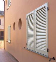 Swing shutters / louvre / aluminum / window