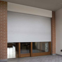 Roller shutters / louvre / aluminum / PVC