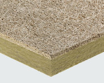 False ceiling slab acoustic panel / for false ceilings / stone wool / wood wool