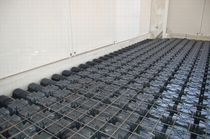 Modular formwork / disposable / plastic / for floors