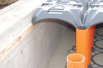 Disposable formwork / polypropylene / for floors / for crawl spaces