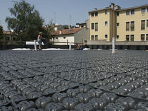 Studded drainage membrane / green roof drainage
