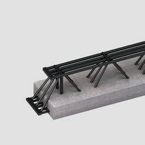 Combi beam / self-supporting / prestressed concrete / steel
