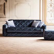 Sofa bed / Art Deco / fabric / 2-seater