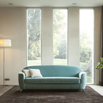 Sofa bed / contemporary / fabric / with washable removable cover