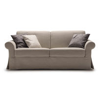 Sofa bed / traditional / fabric / 2-seater