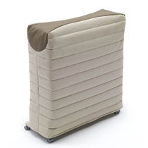 Single bed / contemporary / fabric / steel