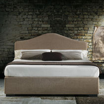 Double bed / single / traditional / upholstered