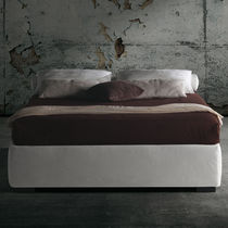 Double bed / single / contemporary / fabric