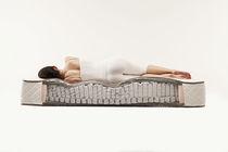 Double mattress / latex / 160x200 cm / cotton