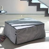 Contemporary ottoman / fabric / square / bed