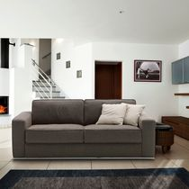 Sofa bed / contemporary / fabric / 2-seater