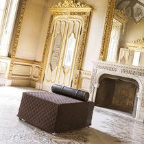 Art Deco ottoman / fabric / bed / indoor