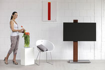 Contemporary TV stand / with concealed casters