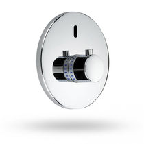 Shower mixer tap / metal / electronic / bathroom