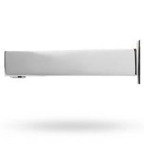 Washbasin single tap / wall-mounted / metal / electronic